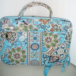 VERA BRADLEY Bali Blue Molded/Hard Laptop/Case